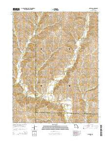 Matkins Missouri Current topographic map, 1:24000 scale, 7.5 X 7.5 Minute, Year 2015