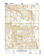 Maywood Missouri Current topographic map, 1:24000 scale, 7.5 X 7.5 Minute, Year 2015 from Missouri Map Store