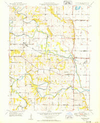 Maywood Missouri Historical topographic map, 1:24000 scale, 7.5 X 7.5 Minute, Year 1950