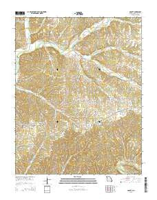 McNatt Missouri Current topographic map, 1:24000 scale, 7.5 X 7.5 Minute, Year 2015