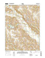 Memphis Missouri Current topographic map, 1:24000 scale, 7.5 X 7.5 Minute, Year 2015 from Missouri Map Store