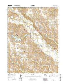 Memphis Missouri Current topographic map, 1:24000 scale, 7.5 X 7.5 Minute, Year 2015