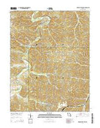 Meramec State Park Missouri Current topographic map, 1:24000 scale, 7.5 X 7.5 Minute, Year 2015 from Missouri Map Store