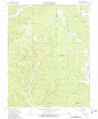 Midridge Missouri Historical topographic map, 1:24000 scale, 7.5 X 7.5 Minute, Year 1966