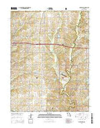 Millersburg Missouri Current topographic map, 1:24000 scale, 7.5 X 7.5 Minute, Year 2015 from Missouri Map Store