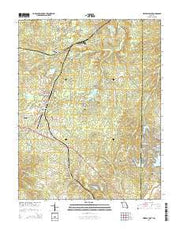 Mineral Point Missouri Current topographic map, 1:24000 scale, 7.5 X 7.5 Minute, Year 2015 from Missouri Maps Store