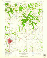 Monroe City Missouri Historical topographic map, 1:24000 scale, 7.5 X 7.5 Minute, Year 1959