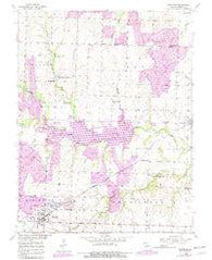 Montrose Missouri Historical topographic map, 1:24000 scale, 7.5 X 7.5 Minute, Year 1953