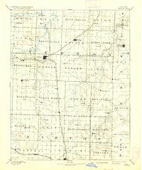 Nevada Missouri Historical topographic map, 1:125000 scale, 30 X 30 Minute, Year 1894