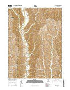 New Boston Missouri Current topographic map, 1:24000 scale, 7.5 X 7.5 Minute, Year 2014 from Missouri Map Store