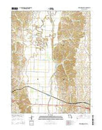 New Cambria East Missouri Current topographic map, 1:24000 scale, 7.5 X 7.5 Minute, Year 2014 from Missouri Map Store