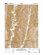 New Cambria West Missouri Current topographic map, 1:24000 scale, 7.5 X 7.5 Minute, Year 2014 from Missouri Map Store