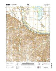 New Frankfort Missouri Current topographic map, 1:24000 scale, 7.5 X 7.5 Minute, Year 2015 from Missouri Maps Store
