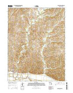New Franklin Missouri Current topographic map, 1:24000 scale, 7.5 X 7.5 Minute, Year 2014 from Missouri Map Store