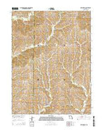 New Hampton Missouri Current topographic map, 1:24000 scale, 7.5 X 7.5 Minute, Year 2014 from Missouri Map Store