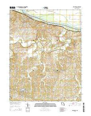 New Haven Missouri Current topographic map, 1:24000 scale, 7.5 X 7.5 Minute, Year 2015 from Missouri Maps Store