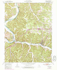 Newburg Missouri Historical topographic map, 1:24000 scale, 7.5 X 7.5 Minute, Year 1950