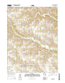 Novelty Missouri Current topographic map, 1:24000 scale, 7.5 X 7.5 Minute, Year 2015