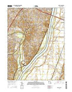 Oakville Missouri Current topographic map, 1:24000 scale, 7.5 X 7.5 Minute, Year 2015 from Missouri Map Store