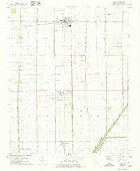 Parma Missouri Historical topographic map, 1:24000 scale, 7.5 X 7.5 Minute, Year 1978