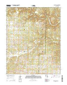Peace Valley Missouri Current topographic map, 1:24000 scale, 7.5 X 7.5 Minute, Year 2015