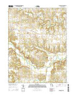 Philadelphia Missouri Current topographic map, 1:24000 scale, 7.5 X 7.5 Minute, Year 2014 from Missouri Map Store