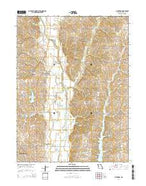 Pickering Missouri Current topographic map, 1:24000 scale, 7.5 X 7.5 Minute, Year 2014 from Missouri Map Store