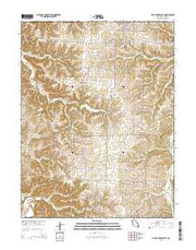 Pilot Grove South Missouri Current topographic map, 1:24000 scale, 7.5 X 7.5 Minute, Year 2015 from Missouri Maps Store