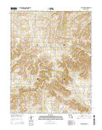 Pleasant Gap Missouri Current topographic map, 1:24000 scale, 7.5 X 7.5 Minute, Year 2014 from Missouri Map Store