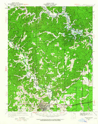 Poplar Bluff Missouri Historical topographic map, 1:62500 scale, 15 X 15 Minute, Year 1949