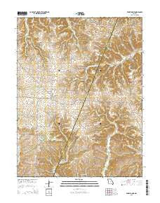 Prairie Home Missouri Current topographic map, 1:24000 scale, 7.5 X 7.5 Minute, Year 2015