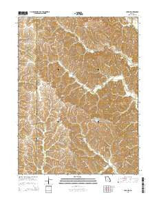 Pure Air Missouri Current topographic map, 1:24000 scale, 7.5 X 7.5 Minute, Year 2015