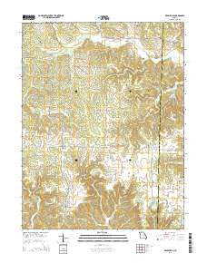 Readsville Missouri Current topographic map, 1:24000 scale, 7.5 X 7.5 Minute, Year 2015