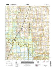 Rockville Missouri Current topographic map, 1:24000 scale, 7.5 X 7.5 Minute, Year 2015 from Missouri Maps Store