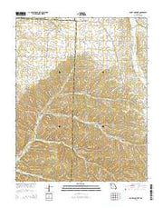 Rocky Comfort Missouri Current topographic map, 1:24000 scale, 7.5 X 7.5 Minute, Year 2015 from Missouri Maps Store