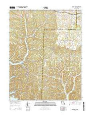 Rocky Mount Missouri Current topographic map, 1:24000 scale, 7.5 X 7.5 Minute, Year 2015 from Missouri Maps Store
