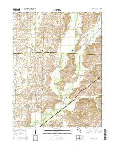 Rothville Missouri Current topographic map, 1:24000 scale, 7.5 X 7.5 Minute, Year 2015