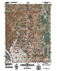 Saint Joseph North Missouri Historical topographic map, 1:24000 scale, 7.5 X 7.5 Minute, Year 2009