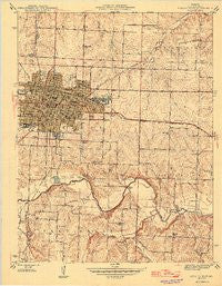 Sedalia East Missouri Historical topographic map, 1:24000 scale, 7.5 X 7.5 Minute, Year 1946