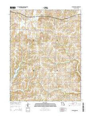 Shackleford Missouri Current topographic map, 1:24000 scale, 7.5 X 7.5 Minute, Year 2015 from Missouri Maps Store