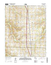 Sheldon Missouri Current topographic map, 1:24000 scale, 7.5 X 7.5 Minute, Year 2015 from Missouri Maps Store