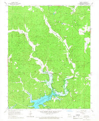 Shook Missouri Historical topographic map, 1:24000 scale, 7.5 X 7.5 Minute, Year 1966
