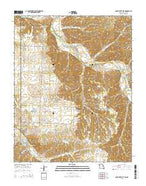 South West City Missouri Current topographic map, 1:24000 scale, 7.5 X 7.5 Minute, Year 2015 from Missouri Map Store