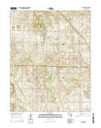 Sprague Missouri Current topographic map, 1:24000 scale, 7.5 X 7.5 Minute, Year 2015 from Missouri Map Store