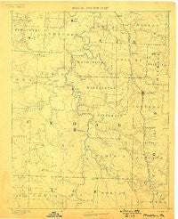 Stockton Missouri Historical topographic map, 1:125000 scale, 30 X 30 Minute, Year 1886