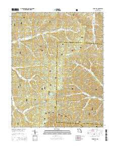 Stone Hill Missouri Current topographic map, 1:24000 scale, 7.5 X 7.5 Minute, Year 2015