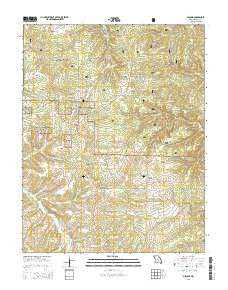 Success Missouri Current topographic map, 1:24000 scale, 7.5 X 7.5 Minute, Year 2015