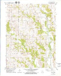 Sue City Missouri Historical topographic map, 1:24000 scale, 7.5 X 7.5 Minute, Year 1979