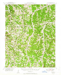Tavern Missouri Historical topographic map, 1:62500 scale, 15 X 15 Minute, Year 1950