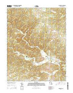 Thomasville Missouri Current topographic map, 1:24000 scale, 7.5 X 7.5 Minute, Year 2015 from Missouri Map Store